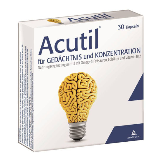 Picture of Acutil® Gedächtnis Kapseln 30Stk.