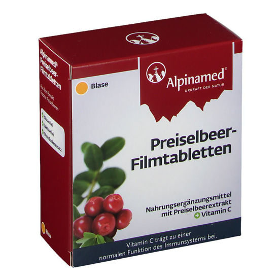 Picture of Alpinamed Preiselbeer Ftbl 60 Stk