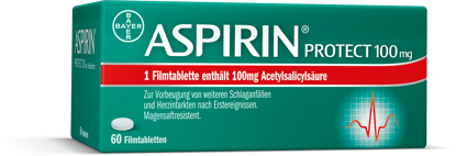Picture of Aspirin® Protect 100 mg Filmtabletten 60Stk.