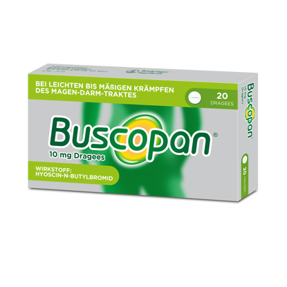 Picture of Buscopan®10mgDragees 20Stk.