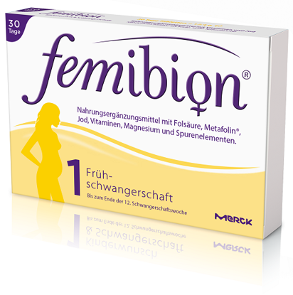 Picture of Femibion Schwang. 1 Tbl. (4-Wochen-Packung) 28Stk.