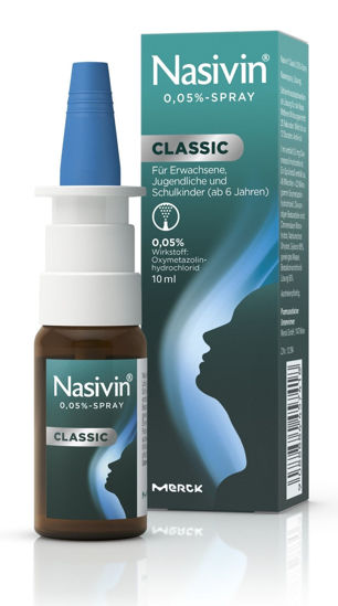 Picture of Nasivin Spray 0,05% Classic