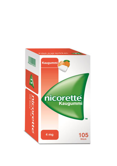 Picture of Nicorette Kaugummi 4mg Freshfruit 105Stk.