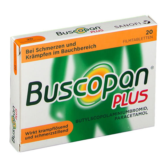 Picture of Buscopan plus Paracetamol Fimtabletten 20Stk.