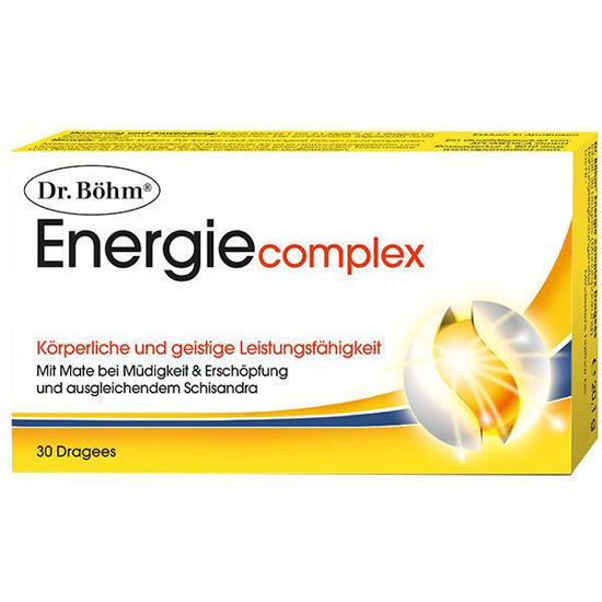 Picture of Dr. Böhm Energie Complex Dragees 30Stk.