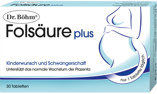 Picture of Dr. Böhm Folsäure Plus Tabletten 30Stk.