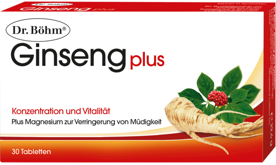 Picture of Dr. Böhm Ginseng Plus Tabletten 30Stk.