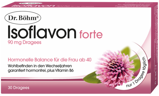 Picture of Dr. Böhm Isoflavon Dragees 90mg 30Stk.