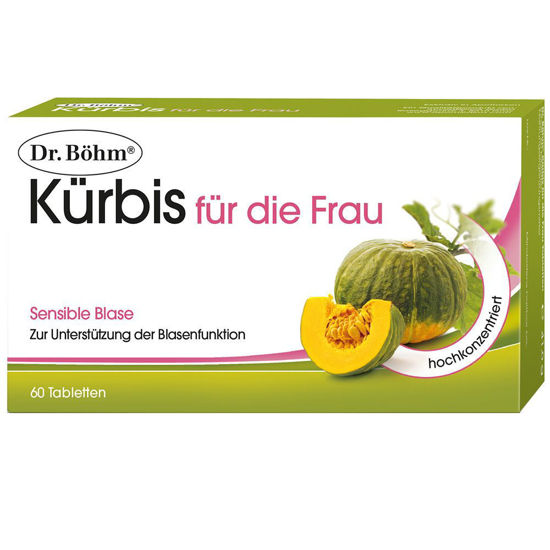 Picture of Dr. Böhm Kürbis Frau Tabletten 60Stk.