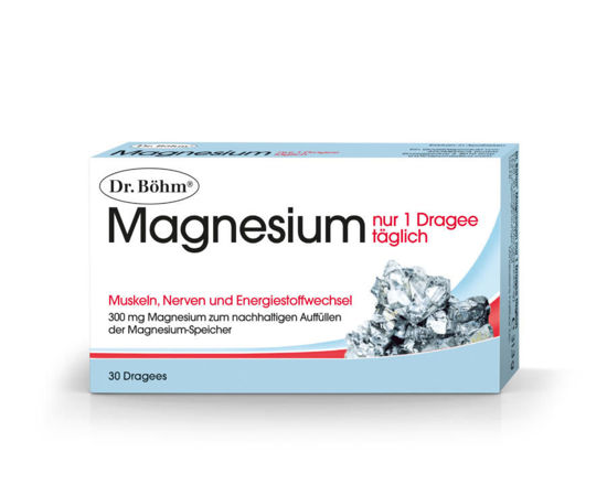 Picture of Dr. Böhm Magnesium 1xtgl Dragees 30Stk.