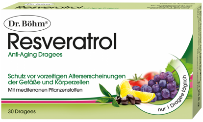 Picture of Dr. Böhm Resveratrol Dragees 30Stk.