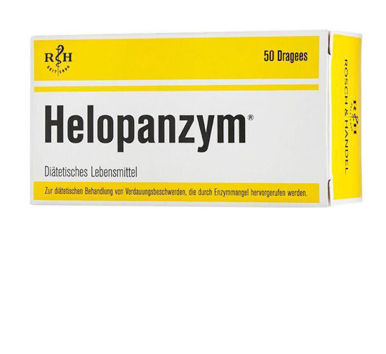 Picture of Helopanzym Dragees 50Stk.