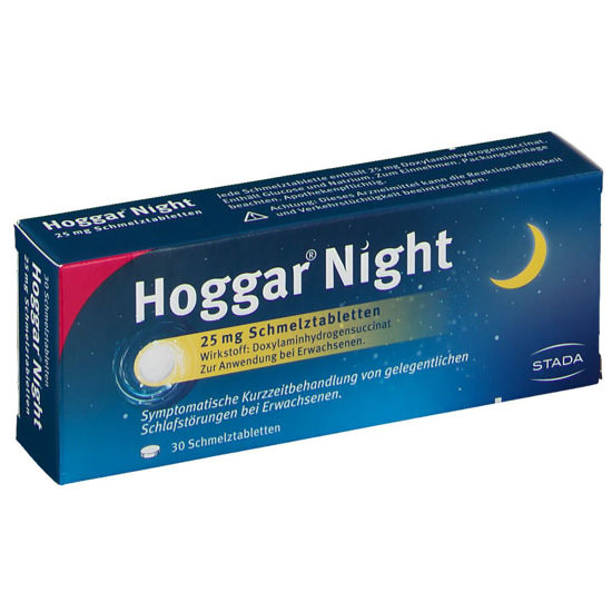 Picture of Hoggar Night Schmelztabletten 25mg 30Stk.