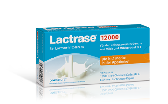 Picture of Lactrase Kapseln 12.000 FCC 45Stk.